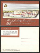 Old Wisconsin Advertising Postcard - Schlitz Brewery - Milwaukee, Beer