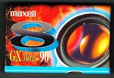 MAXELL P5-90GX Digital8 Hi8 Video8 8mm CAMCORDER VIDEO CAMERA CASSETTE TAPE*NEW