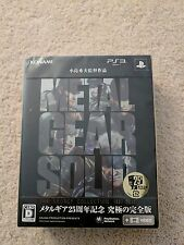 New Metal Gear Solid: The Legacy Collection PS3 Japan Import US Seller