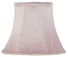 Pink Traditional Shape Chandelier and Sconce Clip-On Silk Shade, #2412