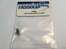 NEW Team Associated 12R5 Side Spring 4.38 lb. #ASC 4642 (bag8) RC12R5