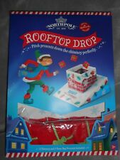 HALLMARK NORTH POLE ROOFTOP DROP BEAN BAG THROW CHRISTMAS HOLIDAY GAME