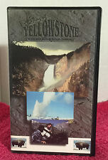 The Making Of Yellowstone IMAX Theatre VHS Video National Wonder Series