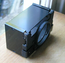 genuine earlier Leica Summicron clip on  lens hood  42mm