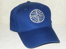 PAN AM AIRLINE BASEBALL CAP PAN AMERICAN AIRLINES AIRPLANE PILOT COLLECTOR GIFT!
