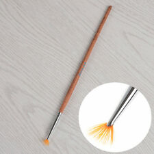1Pc Nail Art Fan Shape Painting Brush Nail Drawing Pen Manicure Design Tool