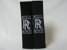 Rolls Royce Embroidery Car Seat Belt Shoulder Pads Pair