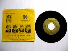 1971 NFL NEW ORLEANS SAINTS 45 RPM RECORD + SLEEVE VERY DIFFICULT TO FIND - RARE