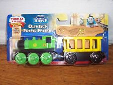NEW IN BOX Thomas and Friends wooden OLIVER'S FOSSIL FREIGHT