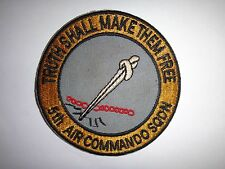US 5th AIR COMMANDO SQUADRON At NHA TRANG Vietnam War Patch