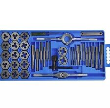 HEAVY DUTY 40 PCS METRIC TAP WRENCH AND DIE SET CUTS M3-M12 BOLTS UK STOCK HAND!