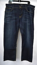 Hudson Relaxed Straight Rifle Dark Blue Jeans 36 USA Mens