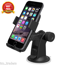 One Touch Mount Stand Car Home Desk Cradle A/C Holder Suction for Mobile Phone