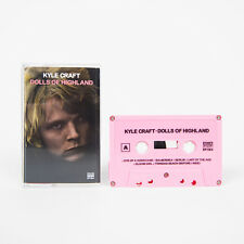 Kyle Craft DOLLS OF HIGHLAND Debut Album SUB POP New Pink Colored Cassette Tape