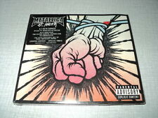 METALLICA CD DVD EU ST-ANGER ***AVEC STICKER*** LIMITED EDITION