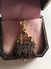 CHARM BRELOQUE JUICY COUTURE Sac à main chaines Chain purse Dorée
