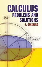 Calculus : Problems and Solutions by A. Ginzburg (2011, Paperback)