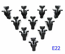 10 x grille grill lock clips for Nissan Frontier Navara D22 1998-2004 99 01 fit