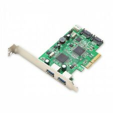 Syba SD-PEX50055 2 Port USB 3.0 and 2 Port SATA III 2-Lane PCI-e 2.0 x4 Card