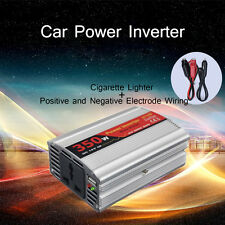 350W 12V DC to 220V AC Car Battery Power Inverter USB Charger Mobile Converter