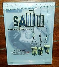 Saw III (DVD, 2007, Unrated Full Screen) Free Shipping!