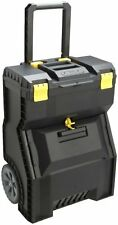 Stanley Mobile Portable Rolling Toolbox Work Center Power Tool Box Hard Case,New