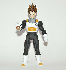 ULTRA RARE TOY MEXICAN DRAGON BALL Z VEGETA BLACK FIGURE WITH LIGHT 9.5 INCHES