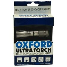 OXFORD BICYCLE CYCLE BIKE ULTRATORCH 9 LED FRONT LIGHT TORCH - OF903