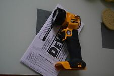 New Dewalt 20v DCL040 LED Cordless Flashlight (bare) use 20 volt DCB204 DCB207