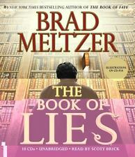The Book of Lies by Brad Meltzer (2008, CD, Unabridged)