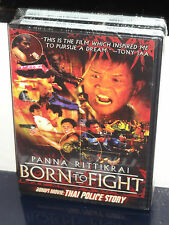 Born to Fight / Thai Police Story (DVD) Best Buy Retail Exclusive! BRAND NEW!