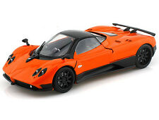 Motor Max 1/24 Scale Pagani Zonda F Diecast Car Model Orange 73369