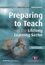 Preparing to Teach in the Lifelong Learning Sector,GOOD Book
