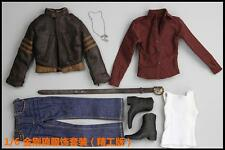 Best Quality █ Custom Wolverine 1/6 Costume Jacket Set for Hottoys Muscular Body