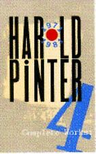 Complete Works, Vol. 4, Pinter, Harold, Acceptable Book