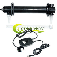 Jebao 55 Watt UV Light Sterilizer For Aquarium Outdoor Pond Fish Reef Tank 55W