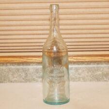 Wagner & Bollenbeck Embossed Blob Top Quart Bottle - Madison WI