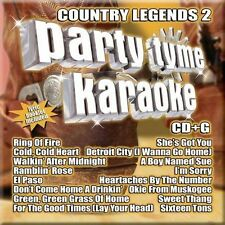 Party Tyme Karaoke - Country Legends Vol. 2, New Music