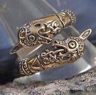 toller Oseberg Ring aus Bronze 60-70 variabel Wikinger Mittelalter Wikingerring