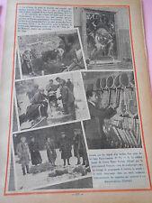 Jussey découvertue squelette mérovingienne Tennis Henri Cochet Print 1935