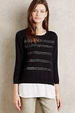 New Anthropologie Layered Dovie Pullover Sz S Sz Small NIP by Angel of the North