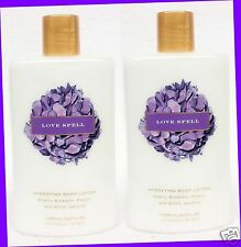 2 Victoria's Secret LOVE SPELL Cherry Peach Jasmine Body Lotion Hand Cream