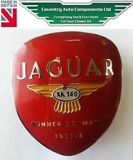 Jaguar XK140 Rear Badge (1040) Le-Mans Legend for Boot Bar *UK Made* BD9152