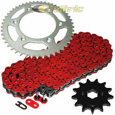 Red O-Ring Drive Chain & Sprocket Kit Fits HONDA CRF150F 2003 2004 2005