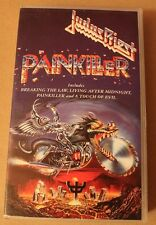 Judas Priest, Painkiller VHS, 1991, rar, rare