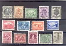 NEWFOUNDLAND SG 236-49 1933 GILBERT 350TH COMMEMORATION L/M/M