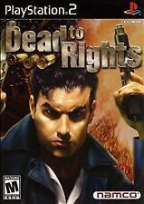 Dead to Rights (BLACK & RED LABEL)  PS2, Excellent PlayStation2, Playstation 2 V