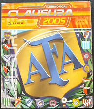 100% COMPLETED PANINI ARGENTINA CLAUSURA 2005 STICKER ALBUM
