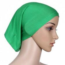 Super Soft Muslim Women Under Scarf Hat Cap Bone Bonnet Neck Cover Hijab Cap