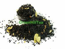 Almond natural flavored black loose leaf  tea 1/2 LB